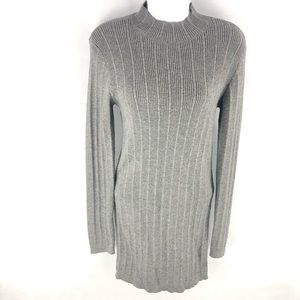 Forever 21 Gray Sweater Tunic L